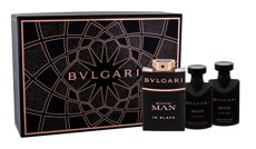 Bvlgari Man In Black Woda perfumowana 60 ml +  Balsam po goleniu 40 ml + Żel pod prysznic 40 ml