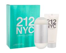 Carolina Herrera 212 NYC  Woda toaletowa 100 ml + Balsam 100 ml