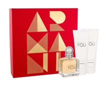 Giorgio Armani Emporio Armani Because It´s You  Woda perfumowana 50 ml + Balsam do ciała 75 ml + Żel pod prysznic 75 ml
