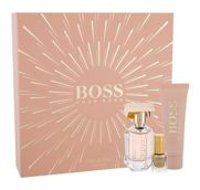HUGO BOSS Boss The Scent For Her  Woda perfumowana 30 ml + Mleczko do ciała 50 ml + Lakier do paznokci Vernis á ongles 4,5 ml