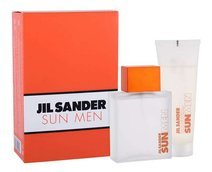 Jil Sander Sun For Men  Woda toaletowa 75 ml  + 75ml Żel pod prysznic