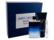 Jimmy Choo Man Blue Woda toaletowa 100 ml + Edt 7,5 ml + Balsam po goleniu 100 ml