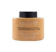 MAKEUP REVOLUTION_Luxury Baking Powder sypki puder Terracotta 35g