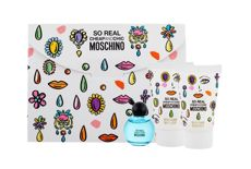 Moschino So Real Cheap and Chic Woda toaletowa 4,9 ml + Żel pod prysznic 25 ml + Mleczko do ciała 25 ml