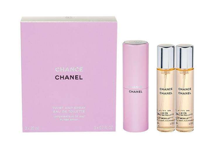 Chanel Chance Woda toaletowa 3x20 ml