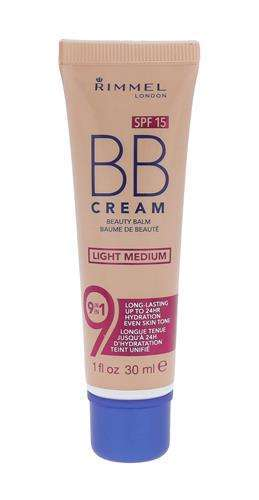 Rimmel London BB Cream 9in1 SPF15 Light Medium Krem BB W 30 ml